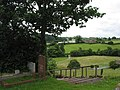 View from the churchyard, Hoarwithy - geograph.org.uk - 474243.jpg