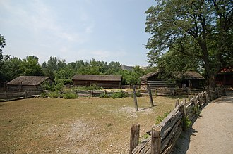 Black Creek Pioneer Village - The village consists of over forty 19th century buildings.