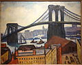 View of Brooklyn Bridge by Samuel Halpert (1884-1930), undated, oil on canvas - Brooklyn Museum - DSC09228.JPG