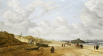 Hendrick van Anthonissen - Image: View of Scheveningen sands, by Hendrick van Anthonissen