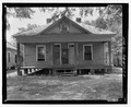 View of front. - Sam Farkas Estate, House, 302 Mercer Avenue, Albany, Dougherty County, GA HABS GA-1175-C-1.tif