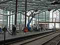 View on the transparent roof and glass walls of station The Hague Central; high resolution image by FotoDutch, June 2013.jpg