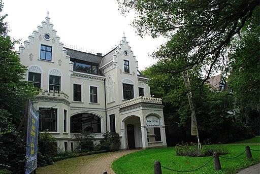 Villa Müller-Schall in Bremen, Hollerallee 75 - Parkstraße 107