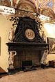 Villa del principe, salone dei giganti, camino di silvio cosini su dis. di perin del vaga, 01.JPG
