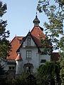 Villa részlet (É). Műemlék ID -12344. - Gödöllő, Fenyvesi nagyút 32.JPG