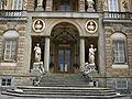 Villa torrigiani di lucca, facciata dettaglio 02.JPG
