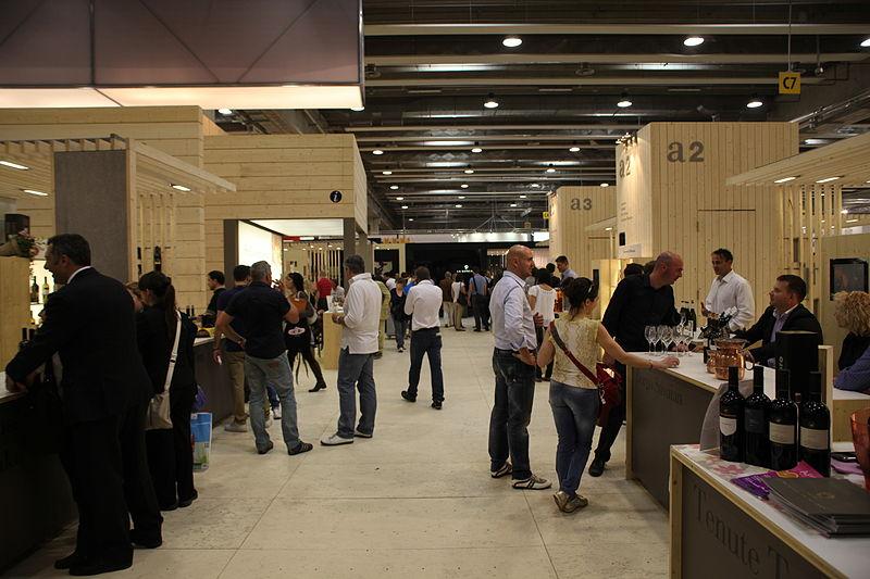 Evento de vinho na Itália