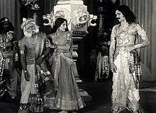 Virata, Draupadi a Kichaka v Sairandhri (1933)