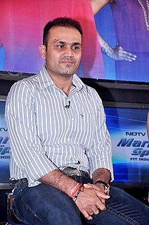 Virender Sehwag Retired Indian cricketer (b. 1978)