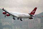 Virgin Atlantic Airways Airbus A340-311 G-VHOL (30224494554).jpg