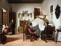 Visita del cura y el barbero a Don Quijote (Museo del Prado).jpg