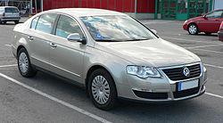 B6 Passat sedan