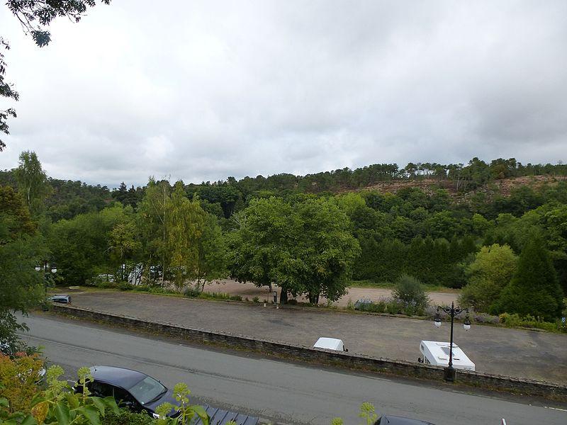 Vue depuis rochefort-en-terre