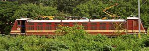 Indian locomotive class WAP-4 - A WAP-4 Locomotive at Secunderabad
