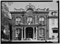 WEST FRONT - City Library, Grand Street, Newburgh, Orange County, NY HABS NY,36-NEWB,9-2.tif