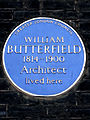 WILLIAM BUTTERFIELD 1814-1900 Architect lived here.jpg