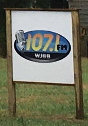 WJBB (AM) - Image: WJBB SIGN