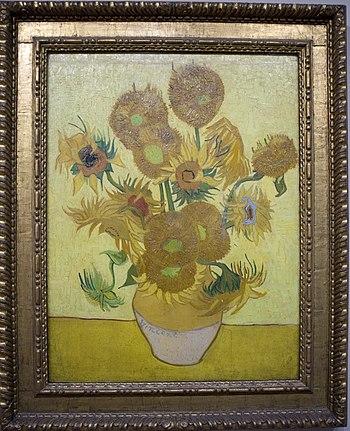 Zonnebloemen, Vincent van Gogh, 1889