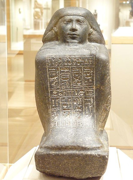 File:WLA brooklynmuseum Block Statue of Harisiese a Priest of Amun and Min.jpg