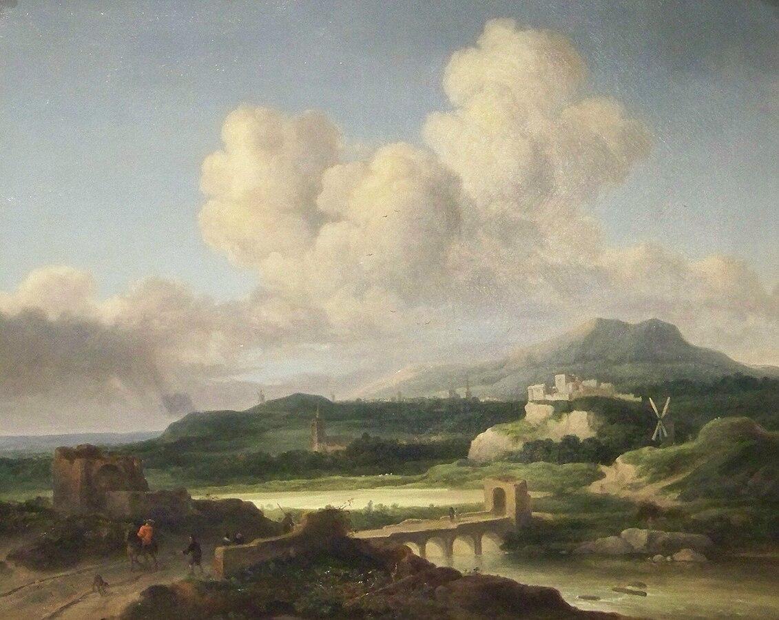 Landscape after Ruisdael