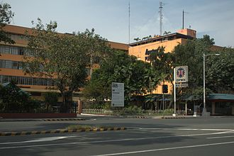 Bonifacio Drive - The Department of Public Works and Highways head office on Bonifacio Drive