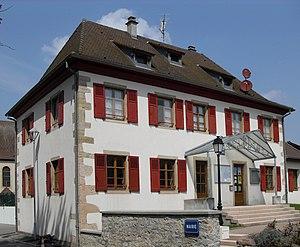 Wahlbach, Haut-Rhin - Image: Wahlbach, Mairie