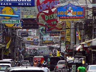 Walking Street, Pattaya - Image: Walking Street Pattaya