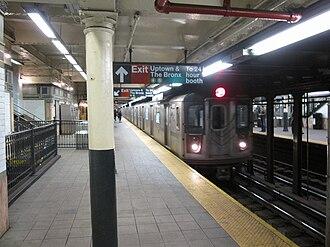 Wall Street (IRT Lexington Avenue Line) - Image: Wall Street IRT 005