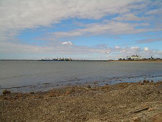 Copper Coast - The port of Wallaroo, with its grain terminal
