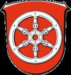 Wappen der Stadt Gernsheim (Schöfferstadt)