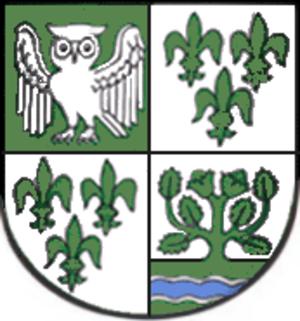 Uhlstädt-Kirchhasel - Image: Wappen Uhlstaedt Kirchhasel
