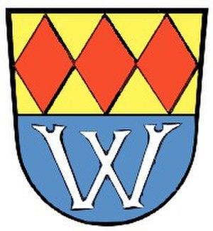 Wilhermsdorf - Image: Wappen von Wilhermsdorf