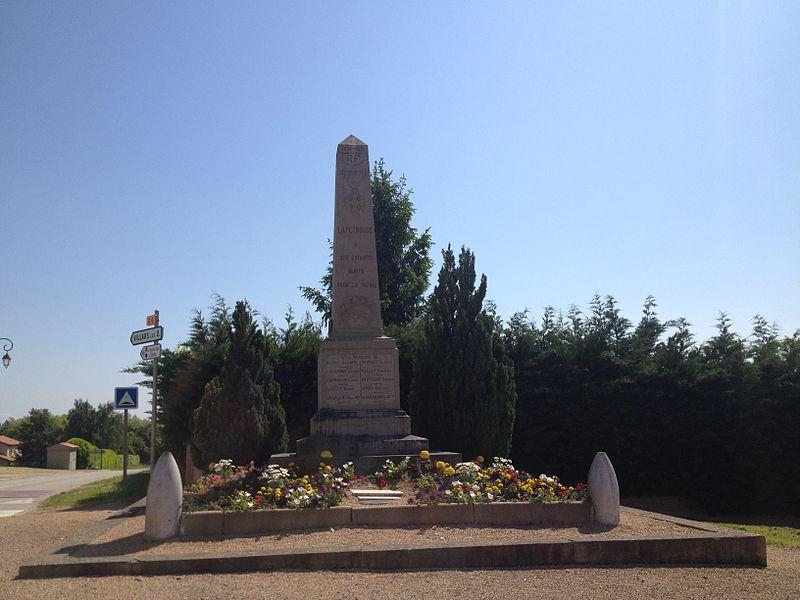 War memorial of Lapeyrouse (Ain).