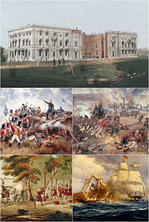 War of 1812 32-month military conflict between the United States and the British Empire