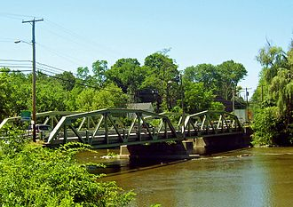 Montgomery (village), New York - Ward's Bridge, the entrance to Montgomery from the west
