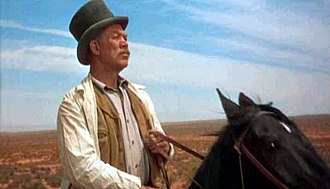 Ward Bond - As Reverend Captain Clayton in The Searchers (1956)