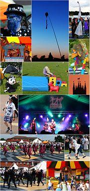 Warwick Folk Festival Montage 2014