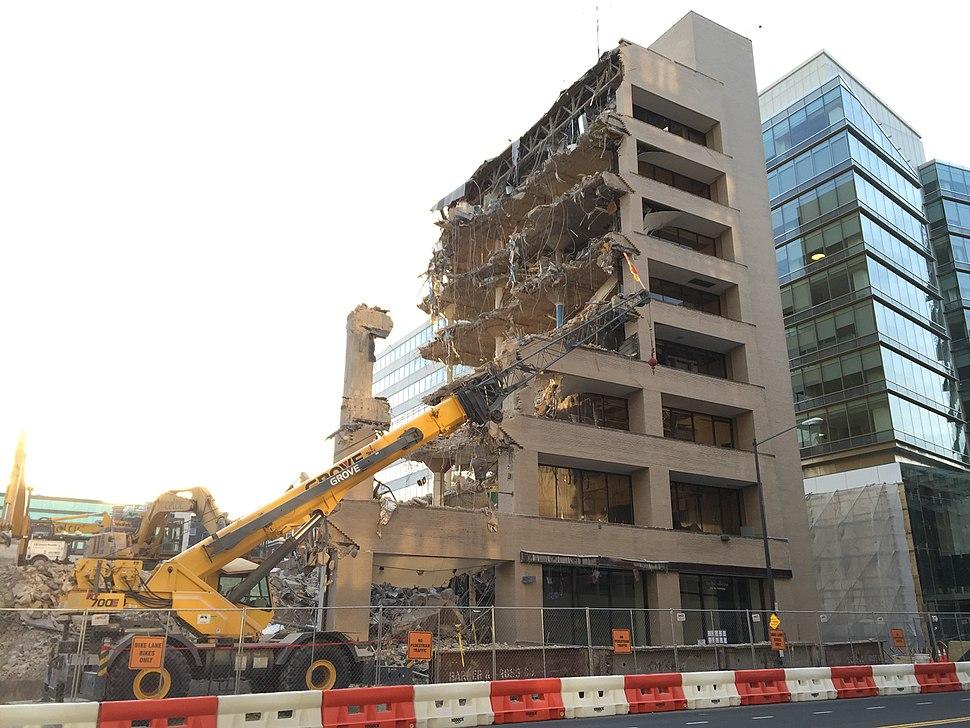 Washington Post demolition 2016