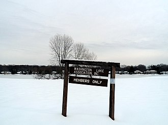 Washington Township, Bergen County, New Jersey - Schlegel Lake (private)