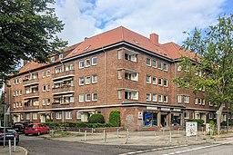 Washingtonallee in Hamburg