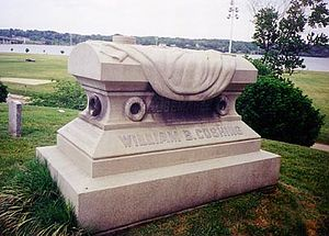 William B. Cushing - Commander Cushing's Tombstone