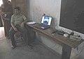Web-camera monitors the election process at a polling station in the Tamil Nadu Assembly Election, at Kanyakumari, on April 13, 2011.jpg