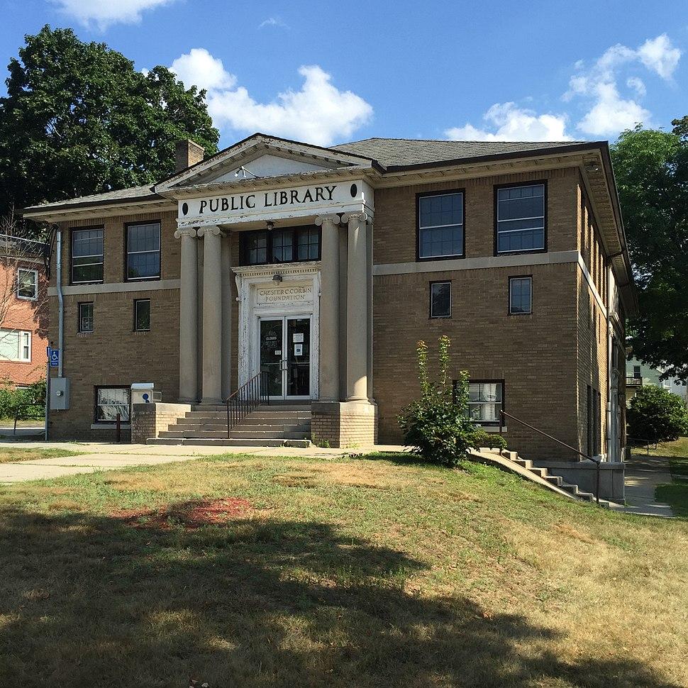 Webster, Massachusetts public library