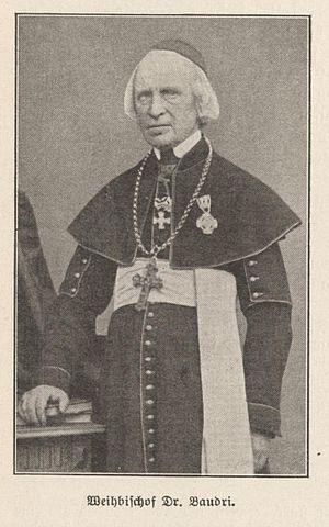 Johann Anton Friedrich Baudri - Weihbischof Johann Anton Friedrich Baudri