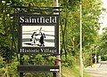 Welcome to Saintfield - geograph.org.uk - 1440664.jpg