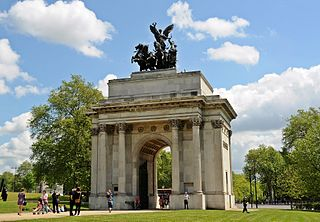 Wellington Arch, London.JPG