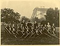 Wembley Boys' Brigade in front of Watkin's Tower.jpg
