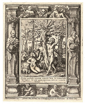 Wenceslas Hollar - Garden of Eden (State 2)