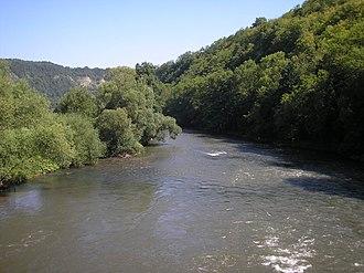 Werra - Image: Werra bei Creuzburg