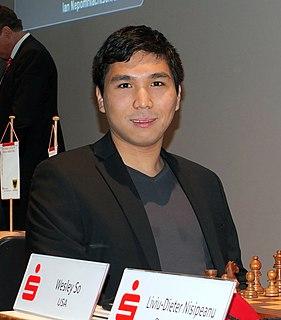 Wesley So Filipino chess grandmaster